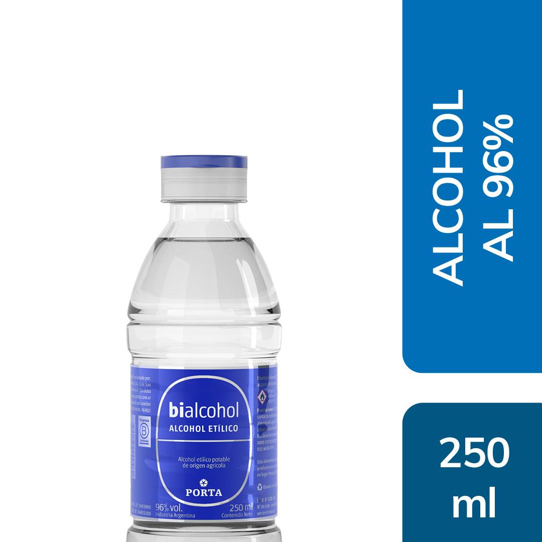 Alcohol al 96% 250mls