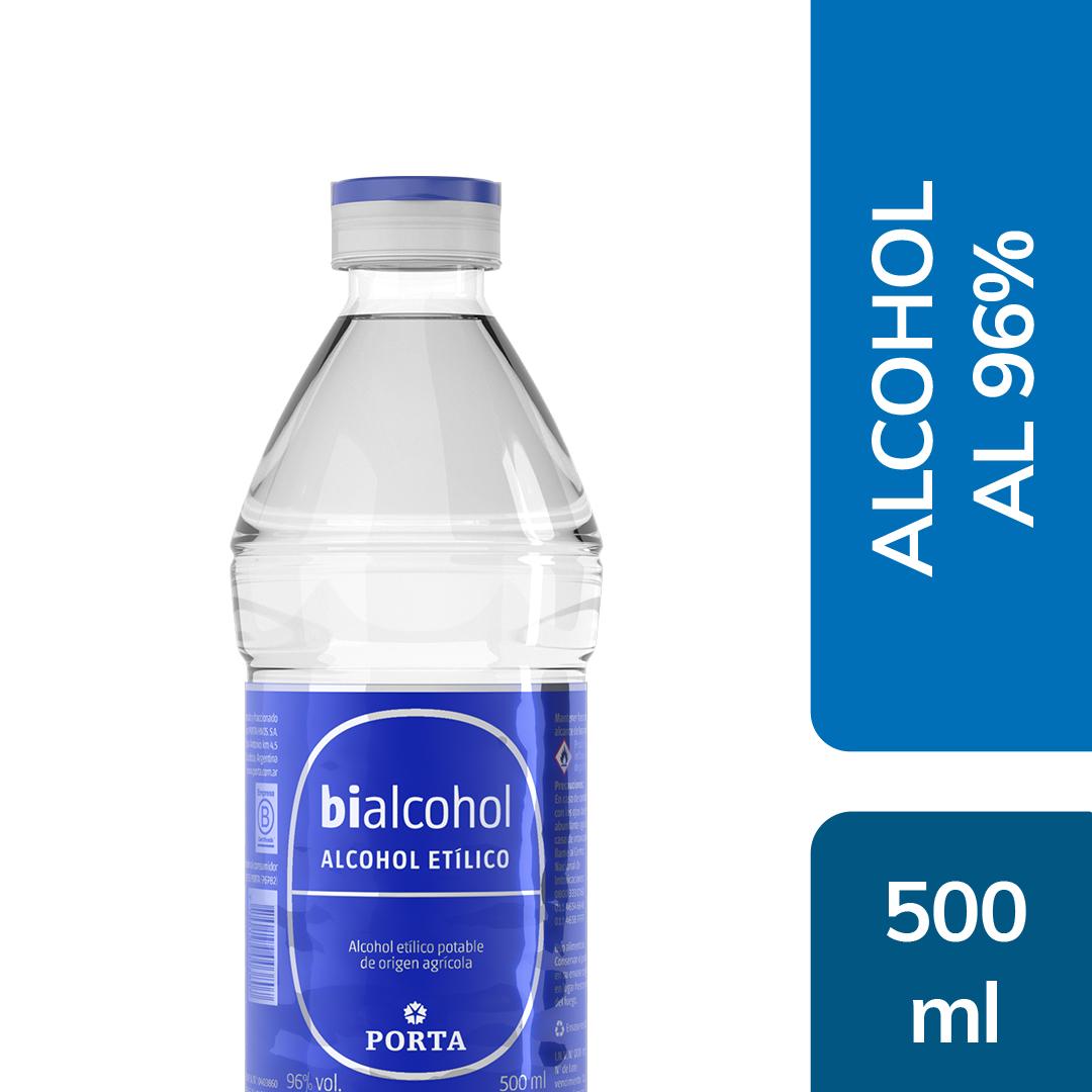 Alcohol al 96% 500mls