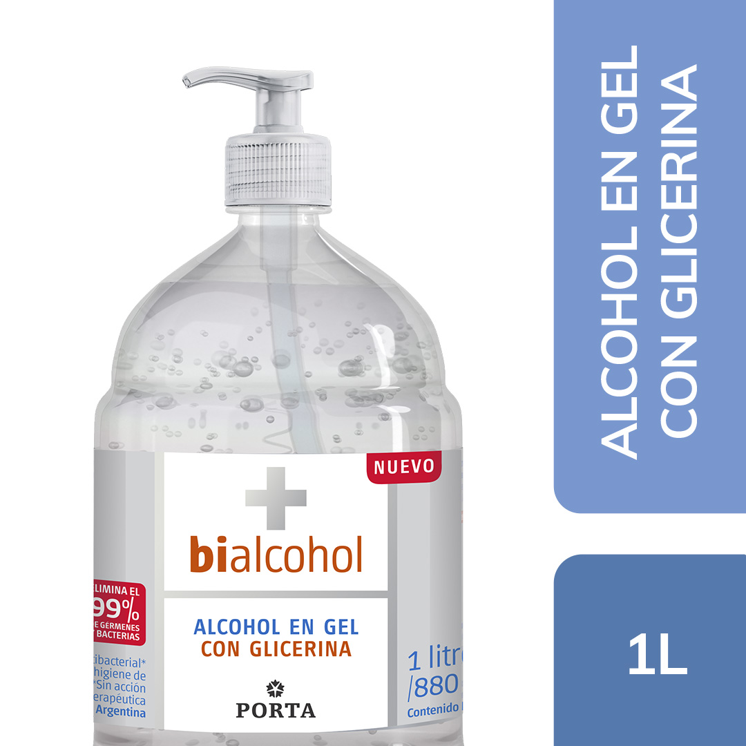 Alcohol en Gel con Glicerina 1000mls