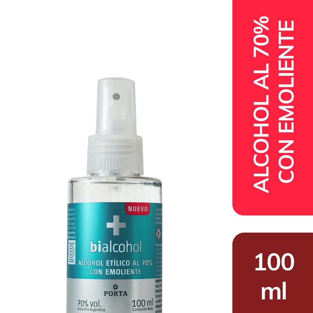 Alcohol al 70% Spray con Emoliente 100mls